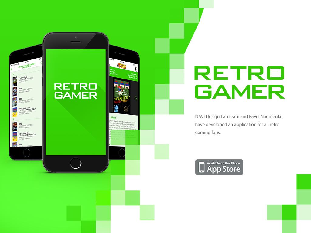 Retro Gamer | NAVI DesignLab  Listen, understand, create